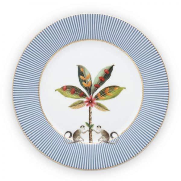 Πιάτο Φρούτου Πορσελάνης Pip Studio La Majorelle Blue 21cm