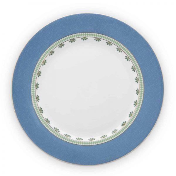 Πιάτο Φαγητού Πορσελάνης Pip Studio La Majorelle Blue 26,5cm