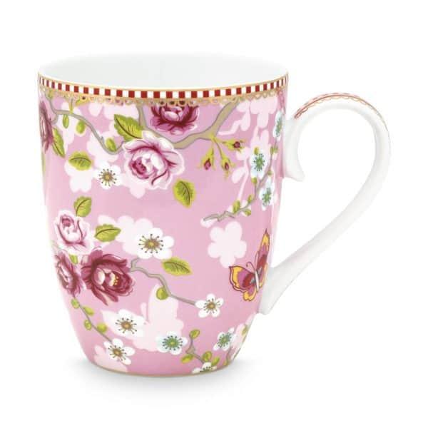 Κούπα Πορσελάνης Pip Studio Chinese Rose Pink 350ml