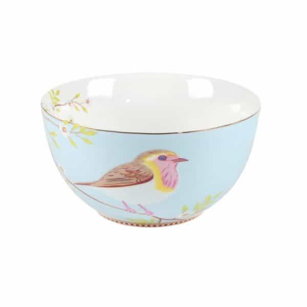 Μπολ Πορσελάνης Pip Studio Early Bird Blue 15cm
