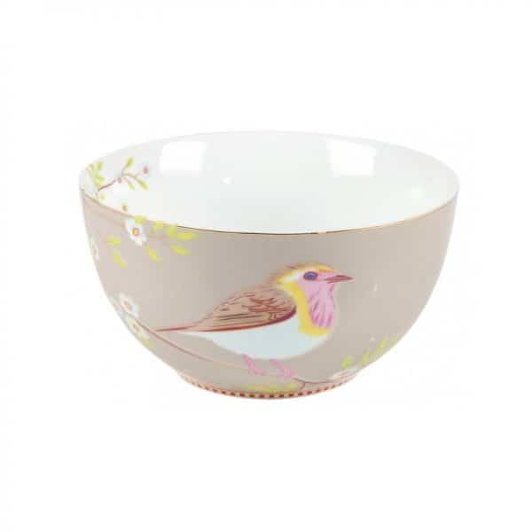 Μπολ Πορσελάνης Pip Studio Early Bird Khaki 15cm