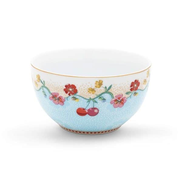 Μπολ Πορσελάνης Pip Studio Floral Cherry Blue 12cm