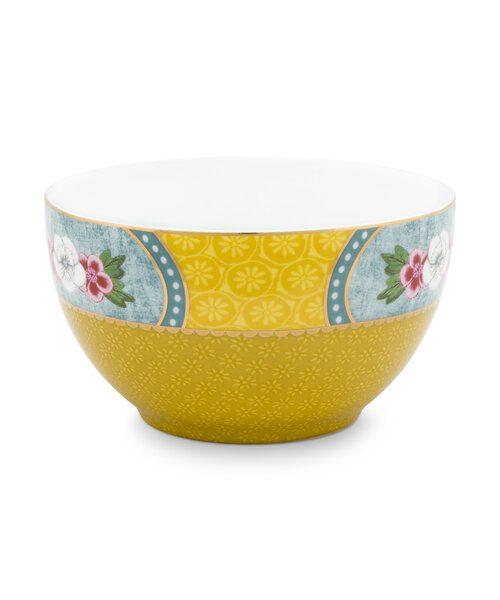 Μπολ Πορσελάνης Pip Studio Star Flower Yellow 9.5cm