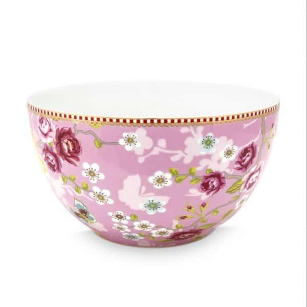 Μπολ Πορσελάνης Pip Studio Chinese Rose Pink 18cm