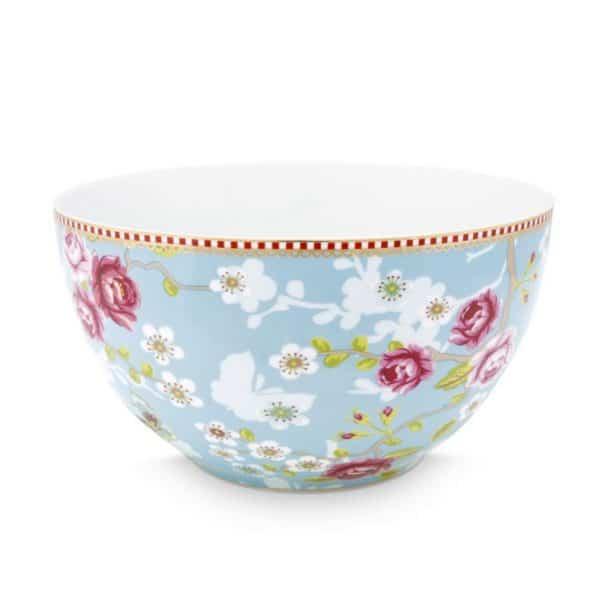 Μπολ Πορσελάνης Pip Studio Chinese Rose Blue 18cm