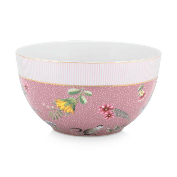 Μπολ Πορσελάνης Pip Studio La Majorelle Pink 18cm