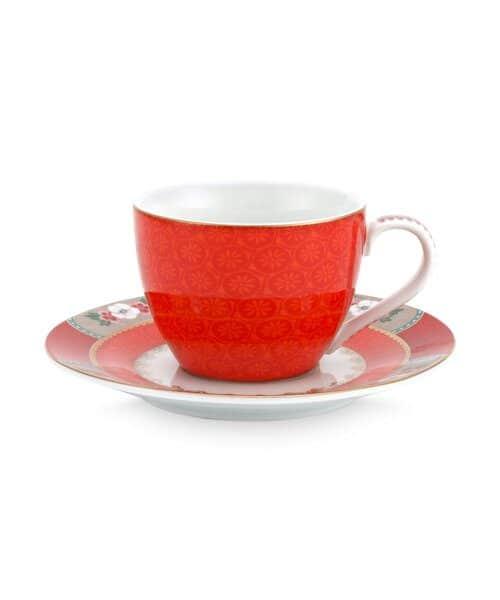 Φλιτζάνι Espresso Πορσελάνης Pip Studio Blushing Birds Red 120ml