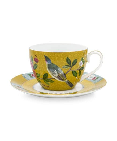 Φλιτζάνι Τσαγιού Πορσελάνης Pip Studio Blushing Birds Yellow 280ml