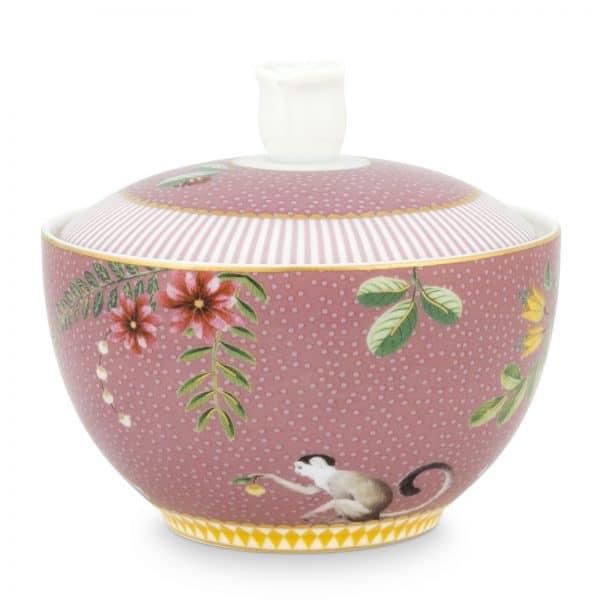 Ζαχαριέρα Πορσελάνης Pip Studio La Majorelle Pink 300ml
