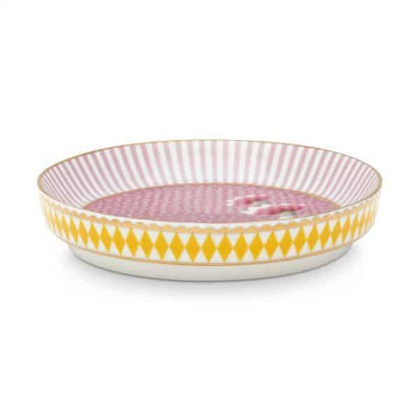 Πιατάκι Τσαγιού Πορσελάνης Pip Studio La Majorelle Pink 9cm
