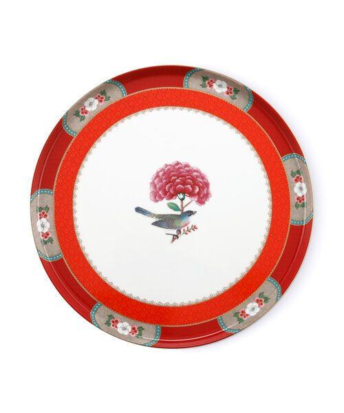 Τουρτιέρα Πορσελάνης Πόδι Pip Studio Blushing Birds Red 30.5cm