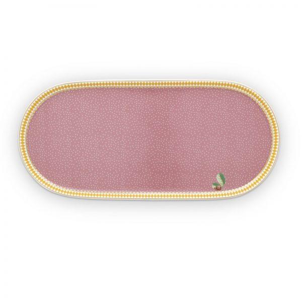 Δισκάκι Πορσελάνης Pip Studio La Majorelle Pink 25x 12cm