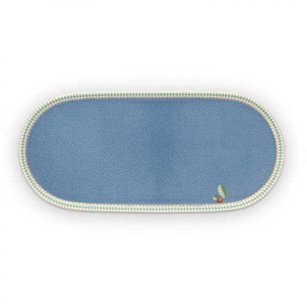 Δισκάκι Πορσελάνης Pip Studio La Majorelle Blue 25x 12cm