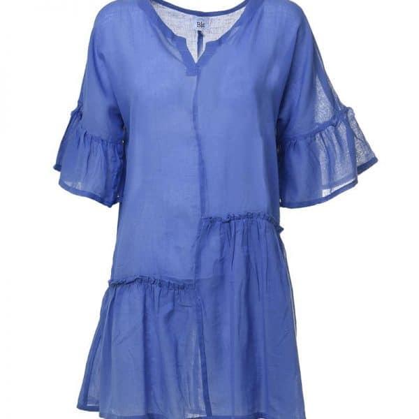 Inart Φόρεμα Μπλε