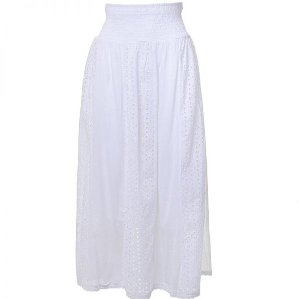 Inart Φούστα Λευκή