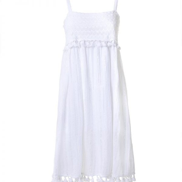 Inart Φόρεμα Αμάνικο