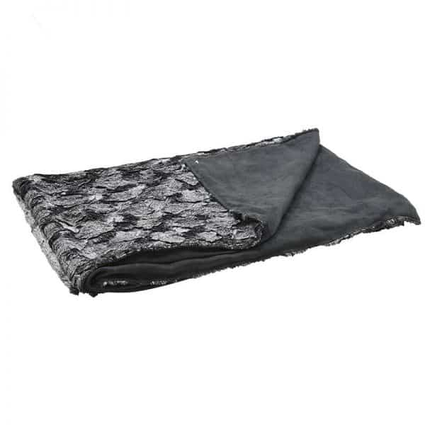Inart Ριχτάρι 140Χ160 Μαύρο,Ασήμι   Συνθετικό / ΠΟΛΥΕΣΤΕΡ 140x160x160 cm