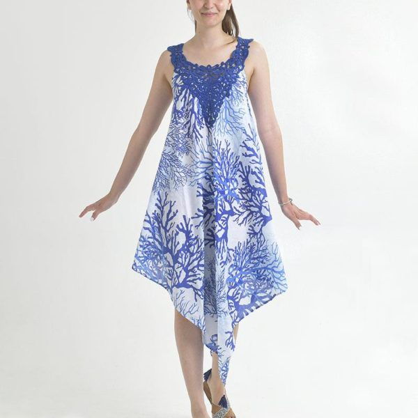 Inart Φόρεμα Ασύμμετρο