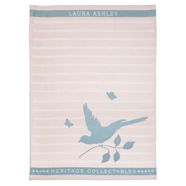 Πετσέτα Κουζίνας Laura Ashley Blush Bird Cotton 50x70cm