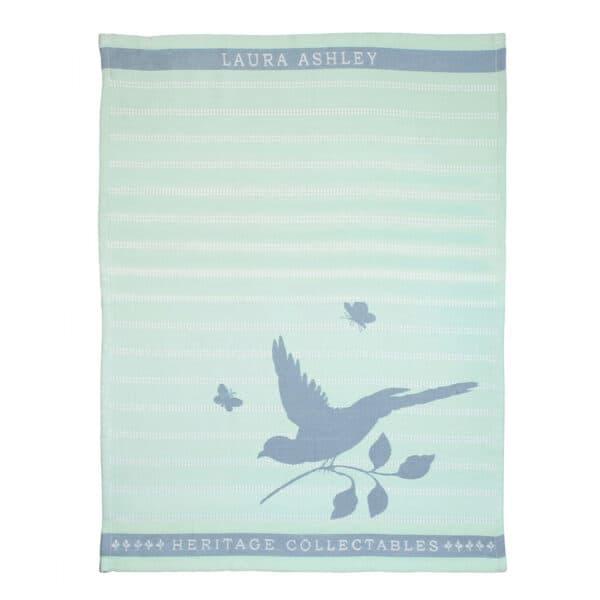 Πετσέτα Κουζίνας Laura Ashley Mint Bird Cotton 50x70cm