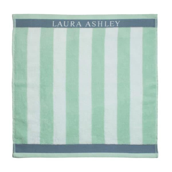 Πετσέτα Κουζίνας Laura Ashley Terry Mint Stripe Cotton 50x50cm