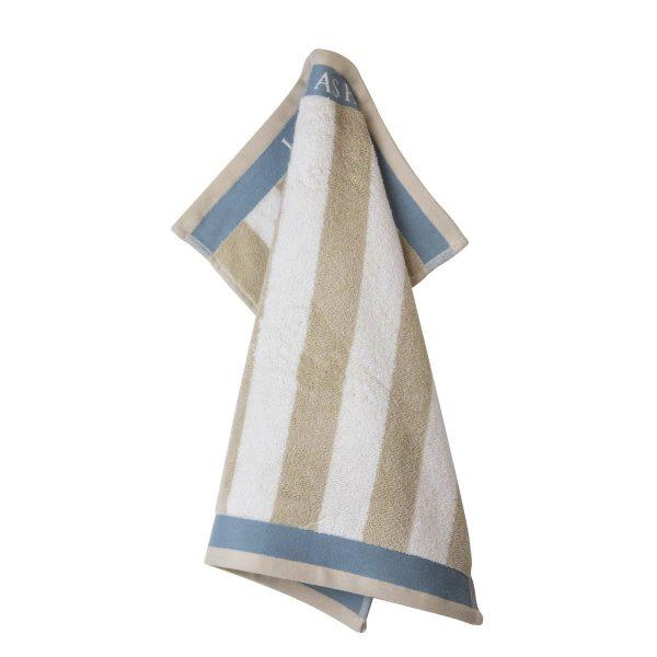 Πετσέτα Κουζίνας Laura Ashley Terry Cobblestone Stripe Cotton 50x50cm