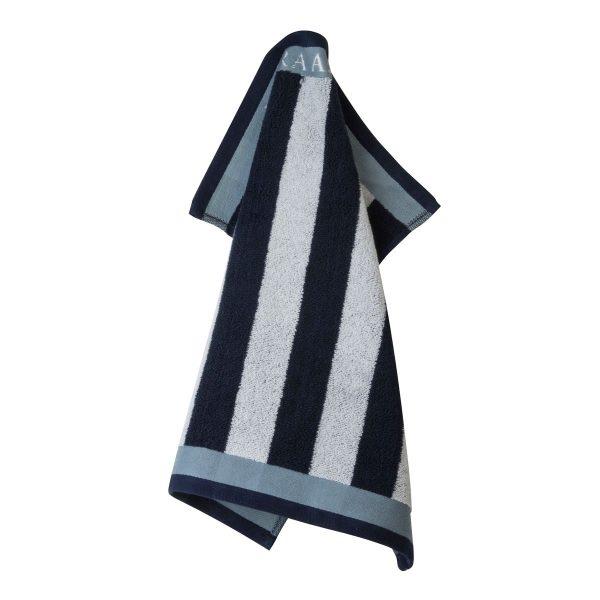 Πετσέτα Κουζίνας Laura Ashley Terry Midnight Stripe Cotton 50x50cm