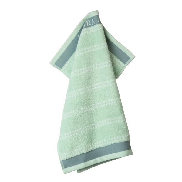 Πετσέτα Κουζίνας Laura Ashley Terry Mint Cotton 50x50cm