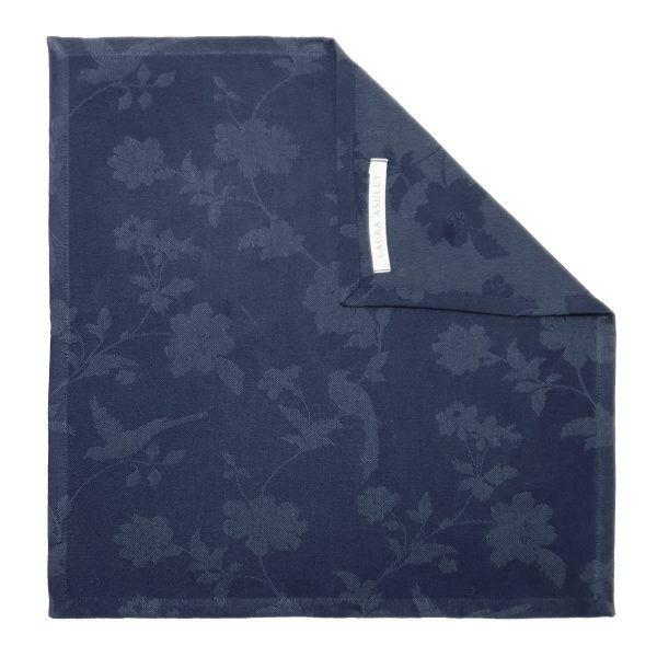 Πετσέτα Φαγητού Laura Ashley Midnight Cotton 45x45cm