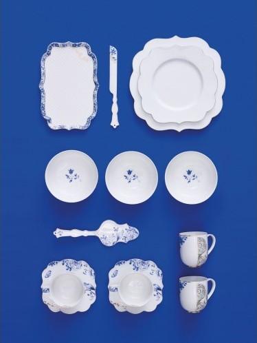 Πιάτο Σούπας Πορσελάνης Pip Studio Royal White 23.5cm.