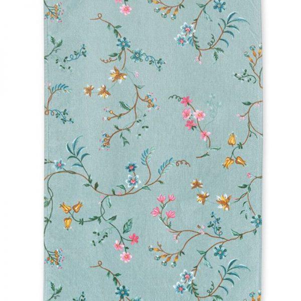 Πετσέτα Pip Studio Les Fleurs Blue Cotton 100x55cm