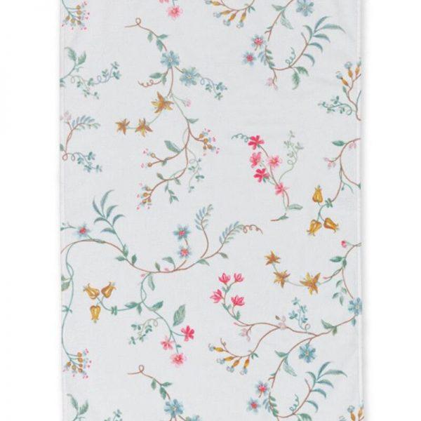Πετσέτα Pip Studio Les Fleurs White Cotton 100x55cm