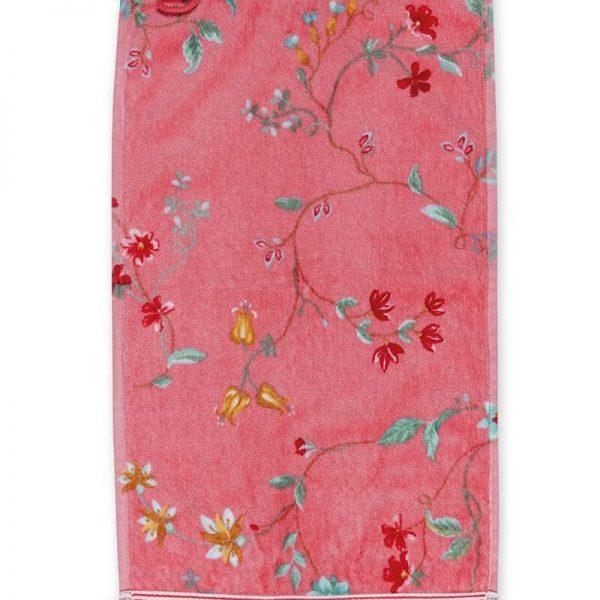 Πετσέτα Χεριών Pip Studio Les Fleurs Pink Cotton 30x50cm