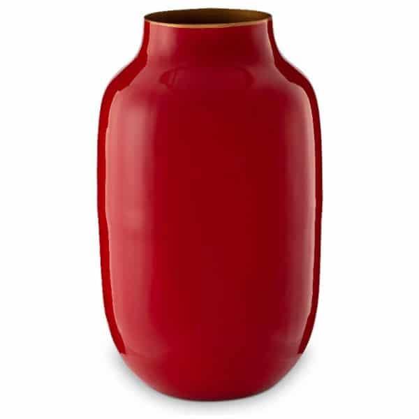 Μεταλλικό Βάζο Pip Studio Blushing Birds Red 30cm