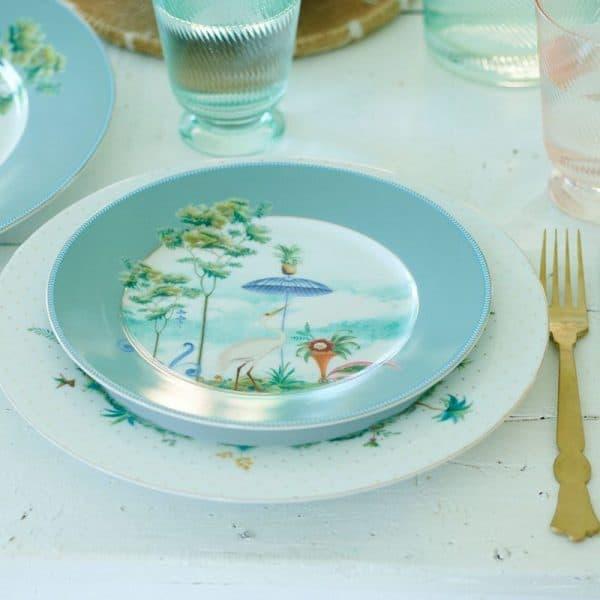 Πιάτο Πρωινού Πορσελάνης Pip Studio Jolie Blue 21cm