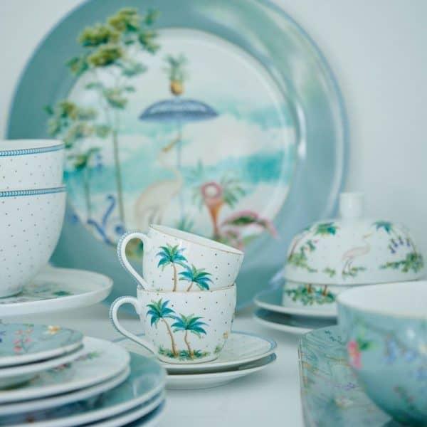 Μικρό Πιατάκι Πορσελάνης Pip Studio Jolie Flowers Blue 12cm