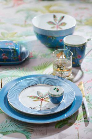 Πιάτο Γλυκού Πορσελάνης Pip Studio La Majorelle Blue 17cm