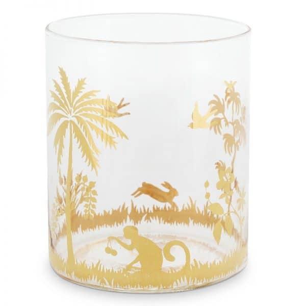 Ποτήρι Νερού Γυάλινο Pip Studio La Majorelle Gold 250ml