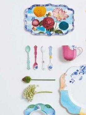 Δίσκος Πορσελάνης Pip Studio Royal Flowers 26×18cm