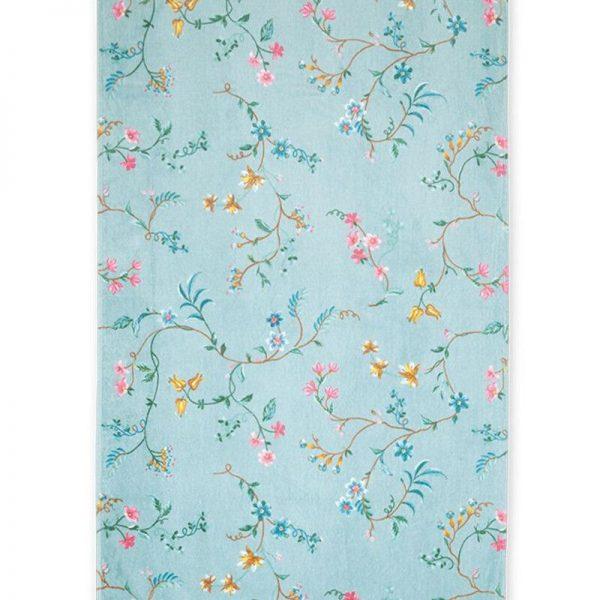 Πετσέτα Μπάνιου Pip Studio Les Fleurs Blue Cotton 140x70cm