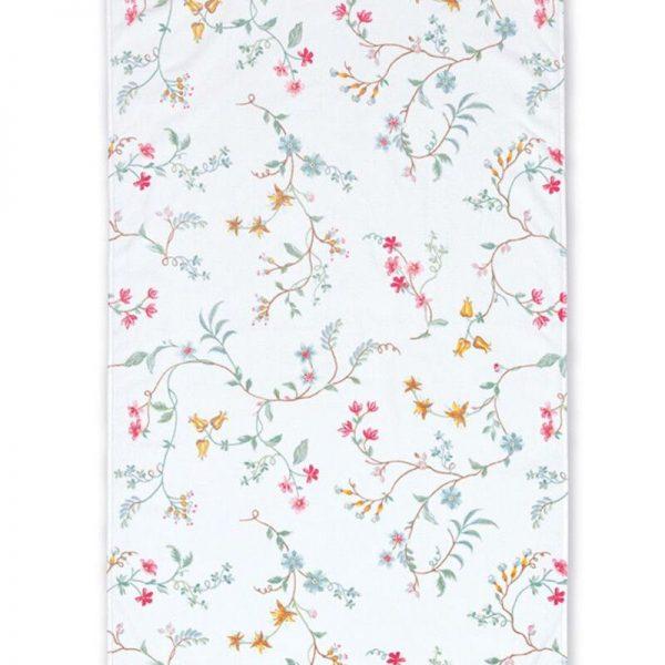 Πετσέτα Μπάνιου Pip Studio Les Fleurs White Cotton 140x70cm