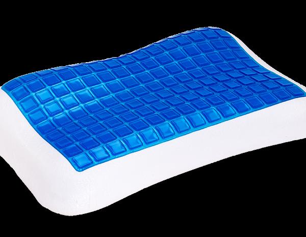 Αντιαλλεργικό μαξιλάρι 257 Memory Cool Gel Multi-Level Μέτριας Σκληρότητας 62x38x7-11cm