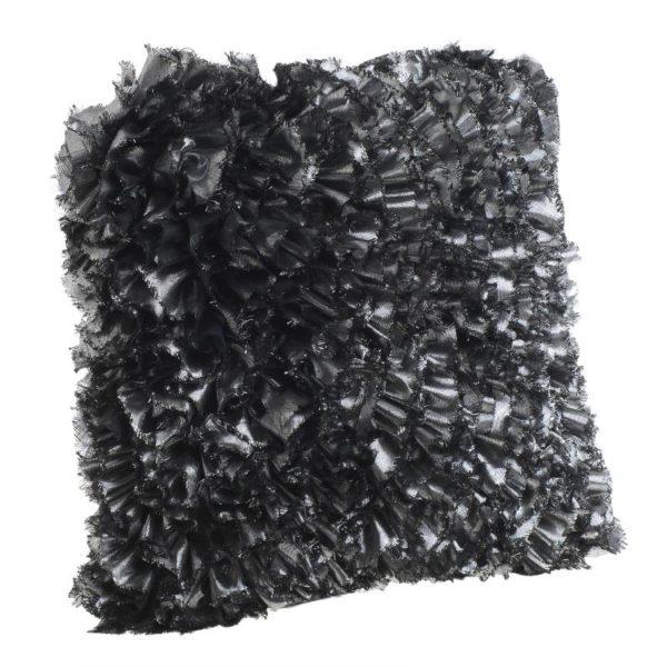 Inart Μαξιλάρι 45X45 Ασήμι   Συνθετικό / ΠΟΛΥΕΣΤΕΡ 45x45x10 cm