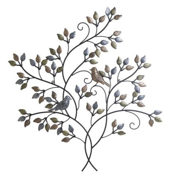 Inart Διακοσμητικό Τοίχου  Σίδερο 76x3x81 cm