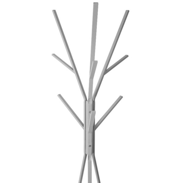 Καλόγερος Μέταλλο/MDF Γκρι 44x42x180 cm