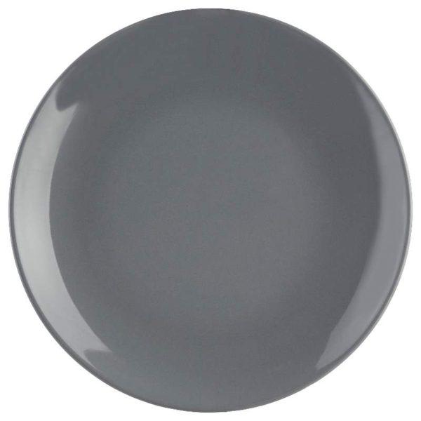 Πιάτα Colorama Faience Γκρι Σετ 18 - 26 cm, 21 cm, 20 cm