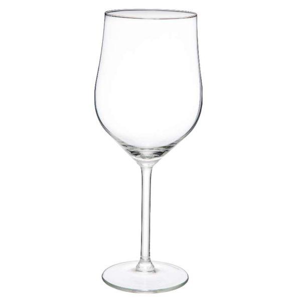 Ποτήρια Γυάλινα Κρασιού Σετ 4 - 9,4x23,5 cm