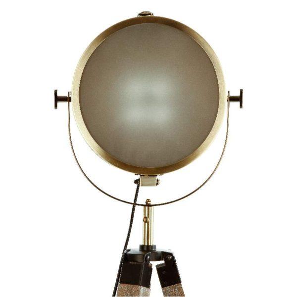 Επιδαπέδιο Φωτιστικό Ebor Bronze E27 MDF/Γυαλί 62,5x57x150 cm