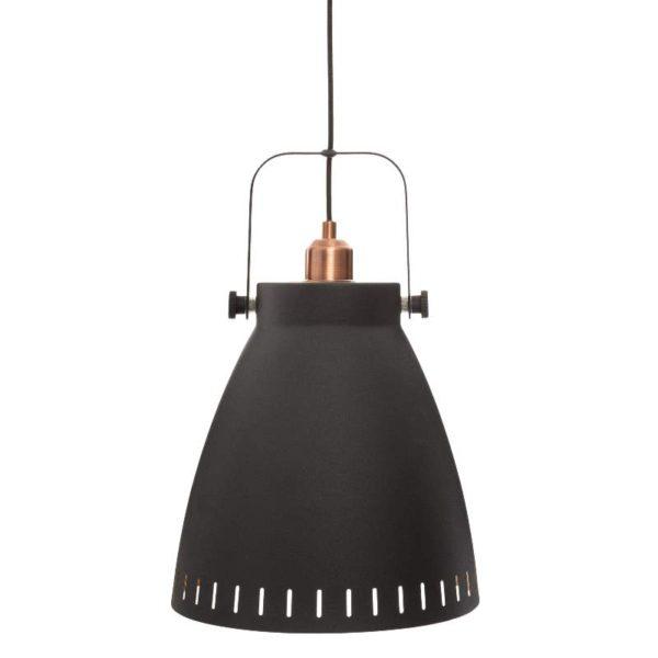 Φωτιστικό Οροφής Bostic E27 Σκούρο Γκρι Μεταλλικό 26,5x38,9 cm