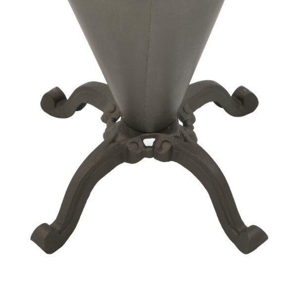 Inart Τραπέζι  Σίδερο 60x60x80 cm